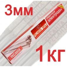 Электрод Ресанта МР-3 Ф3,0 Пачка 1 кг