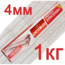 Электрод Ресанта МР-3 Ф4,0 Пачка 1 кг