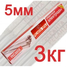 Электрод Ресанта МР-3 Ф5,0 Пачка 3 кг