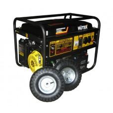 Электрогенератор DY6500LX с колёсами и аккумулятором 5 кВт